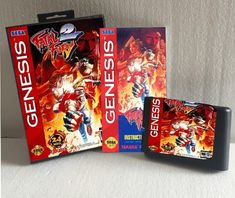 1c4b196e4bd Fatal Fury 2 With Box And Manual 16bit MD Game Card For Sega Mega Drive For