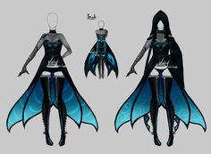 Outfit design - 191 - closed by LotusLumino on DeviantArt: