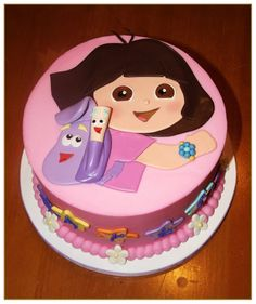 Dora The Explorer Birthday Cake Images