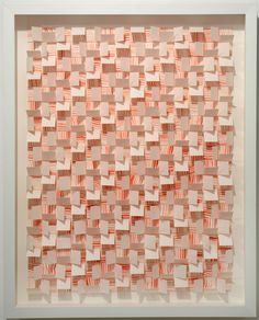 """""""Red Currents"""" by Gregg Welz, Drawing Paper, 20"""" x 16"""""""