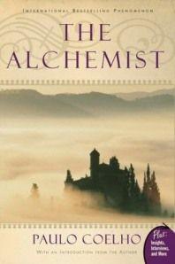 "Lindsay is reading ""The Alchemist"" by Paulo Coelho"