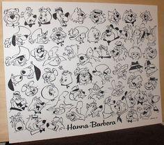 Patrick Owsley Cartoon Art and More!: HB TV STARS and HB TV MEN - ORIGINAL ART STILL AVA...