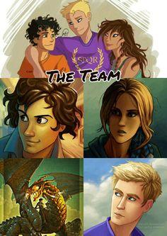 The lost hero trio! Percy Jackson's Greek Heroes, The Lost Hero, Piper Mclean, Fandoms, Uncle Rick, We Movie, Half Blood, Heroes Of Olympus, Rick Riordan