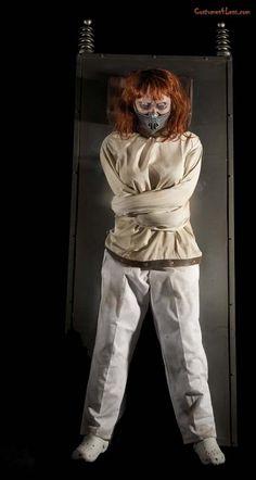 1960's Mental Asylum Restrained Patient MUA Hair Props Costume