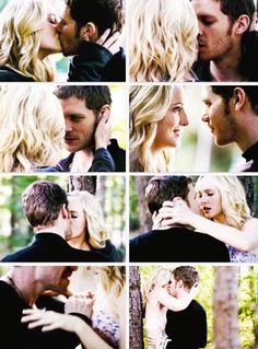 Caroline & Klaus in the vampire diaries 100th episode! Yay!