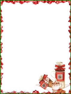 . Christmas Paper, Christmas Colors, Christmas Cards, Lined Writing Paper, Recipe Paper, Christmas Stationery, Borders For Paper, Santa Letter, Christmas Background