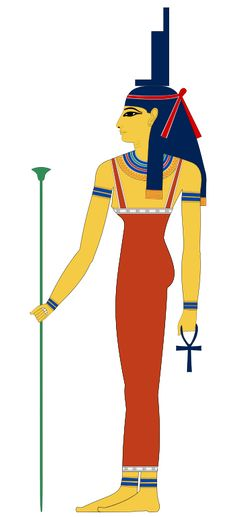 Isis - Goddess of magic, marriage, healing, and protection. She is the wife and sister of Osiris and the mother of Horus.