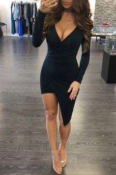 MAKAYLA SOLID DRESS