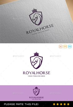 Horse Logo — Photoshop PSD #logo #smart • Available here → https://graphicriver.net/item/horse-logo/9994828?ref=pxcr