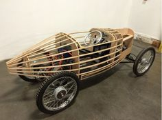 Electric Austin Seven Boulogne inspired CycleKart