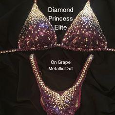 Diamond Princess Elite Figure Competition Suit - $435-510 – Ravish Sands