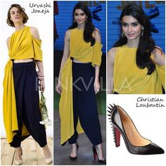 Celebrity Style,christian louboutin,diana penty,Urvashi Joneja,Happy Bhag Jayegi