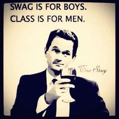 Men with class ;)