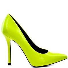 Mafiosa - Lemon Green, Priviledge, 134.99, FREE 2nd Day Shipping!