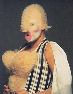 Performance artist and living work of art Leigh Bowery