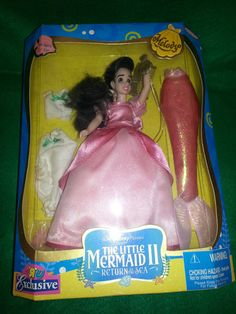 VERY Rare hard to find Little Mermaid Melody Doll.
