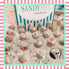 Lovely Wedding #cakepops by #sandybel #wedding #love