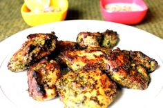 Hara Bhara chicken kabab, green chicken roast!