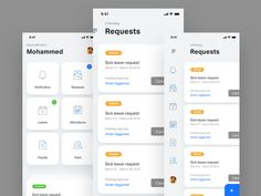 Attendance And Payroll App icons mobileappdesign mobileapp hr payroll attendance mobile ios app interface Ios App Design, Android App Design, Mobile Ui Design, Dashboard Design, Design Thinking, Motion Design, Attendance App, Identity, Ui Design