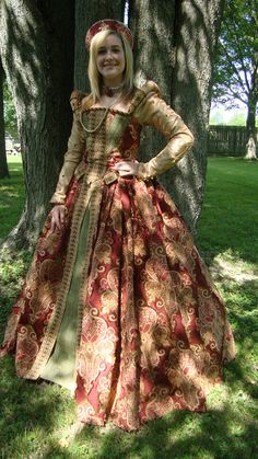 Renaissance Gown by WorksByRenaeHall on Etsy, $2250.00