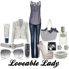 Loveable Lady, created by pookums-mcclead on Polyvore