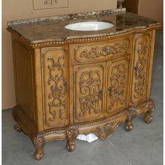 Bathroom Vanity Product | ... (single) 43-Inch Traditional Bathroom vanity BathVanityExperts.com