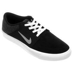 Tênis Nike SB Portmore Preto e Branco | Netshoes