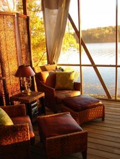 Love the View from this Screened Porch