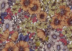 Gloria Flowers, Liberty Tana Lawn Fabric, Liberty of London, Liberty Japan, Floral Fabric, Colorful Art Fabric, Cotton Print Scrap, DC10480z