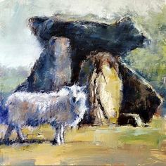 Cromlech and Sheep  Keith Bowen