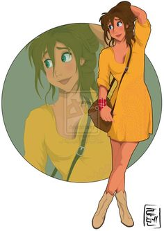 23 Disney Characters As College Students - i've seen some of these but not all of them! absolutely love them!