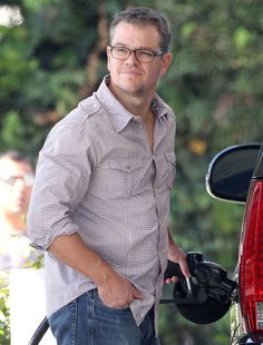 Matt Damon is just like us!