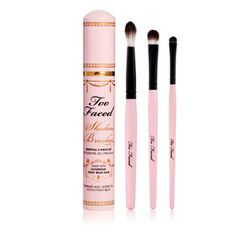 Too Faced Shadow Brushes Essential 3 Piece Set | Accessory | BeautyBay.com
