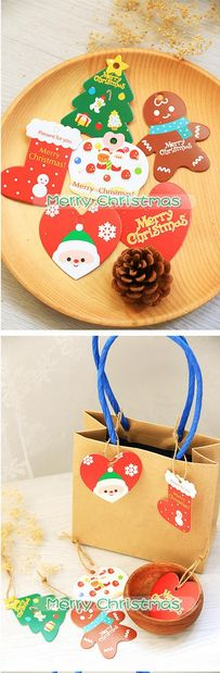 Gentle Ourwarm 2pcs Wooden Christmas Tree Decorations Ornament Sled Santa Claus Snowman Pendant Christmas Decoration For Home Good Taste Diamond