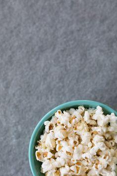 Vanilla and Coconut Popcorn