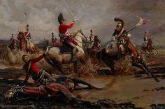 "ArtStation - Fall Of Ponsonby R, Fall Of Ponsonby L ""The Waterloo Collection"", Mariusz Kozik"