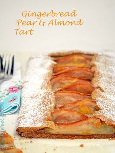 Gingerbread Pear Tart