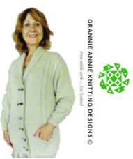 Adult Jacket knitting pattern