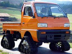 mini-truck on TRAX