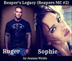 Reaper's Legacy (Reapers MC # by Joanna Wylde Book Club Books, Book Series, Books To Read, My Books, My Romance, Romance Books, Heroes Book, Cheap Books, Happy Reading