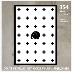 Kinderposter olifant