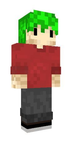 Grian with green hair #Minecraft #Skins #minecraftskin #minecraftskins Grian with green hair #Minecraft #Skin in 2020 Minecraft skins green Minecraft skins Green hair