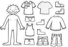 kinderen, Jules Met Kleren Zijn Van Hem Bezittelijke Voornaamwoorden Zintuigen Kleurplaat 5: 5 zintuigen kleurplaat