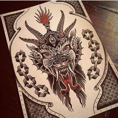 Old School Inspiration Traditional Tattoo Devil, Traditional Tattoo Flash Art, Traditional Tattoo Forearm, Traditional Tattoo Old School, Traditional Flash, Tattoo Sketches, Tattoo Drawings, Tattoo Ink, Arm Tattoo