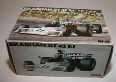Polistil No. FX8, 1/25 - Formel 1 Brabham BT42 Ford F1