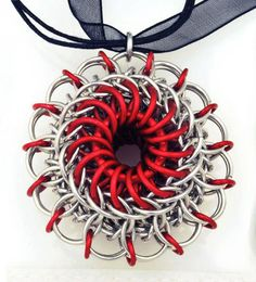 "Artist Lisa Smellzer's ""Dragon Eye Pendant"" at B3 (Blue Bhudda Boutique)"