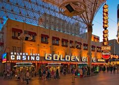 """The Golden Gate Hotel and Casino was the first hotel and casino opened in Las Vegas in It was originally named """" Hotel Nevada"""" and was assigned the first Las Vegas telephone - number Las Vegas Hotels, Vegas Casino, Casino Slot Games, Best Casino, Hotel Reviews, Golden Gate, Nevada, Traveling By Yourself, Fun Facts"""