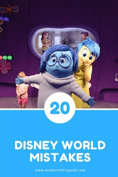 20 Disney World Mistakes to Avoid to make sure you have a great vacation in Orlando & Walt Disney World