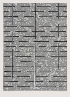 Juhana Blomstedt: Sarjasta Runoja, 1982, serigrafia, 50x35 cm - Galleria Bronda 2016