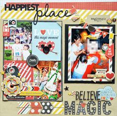 Believe in Magic! - Scrapbook.com